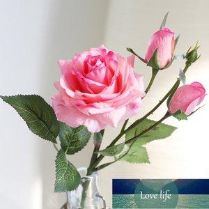 Реальные сенсорные розы искусственные цветы свадебные украшения цветок сладкие розы искусственный домашний сад декор латекс роза