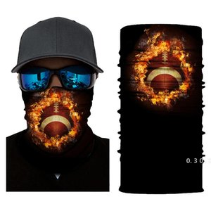 Cycling sports face mask rugby Basketball football magic scarf headscarf male outdoor fishing neck scarf summer UV sunscreen mask EWF5203