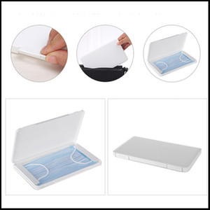 Dustproof Mask Case Portable Disposable Face Masks Container Safe Pollution-Free Disposable Mask Storage Box Storage Organizer DHL free
