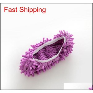 1pcs Bathroom Floor Shoes Covers Top Fashion Special Offer Polyester Solid Dust Cleaner Cl jllysW dayupshop