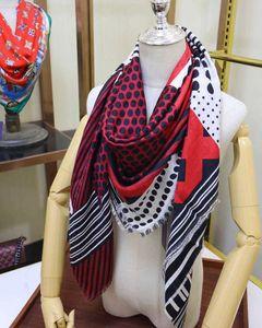 Simulation silk shawl women autumn winter Balinese 100 pure cashmere square scarf DERN
