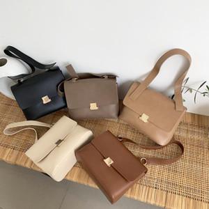 Rahat Retro Kadınlar Omuz Çantaları Tasarımcı Marka Chic Kayış Kadın Çanta Lüks PU Deri Crossbody Messenger Çanta Büyük Çanta