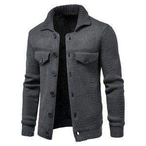 Veste de chandail à manches longues pour hommes d'hiver