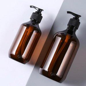 Empty Shampoo Bottles For Body Lotion Shower Gel Jars Plastic Bottle Fot Travel Refillable & Accessories Storage