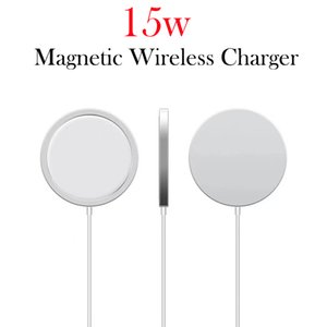 Magnetic Charger for iPhone 12 mini Pro Max Latest New QI Wireless Charger 15W Fast Charge With Package