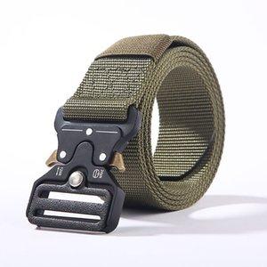 Men's Buckle Tactical Belt Outdoor Sports Nylon New Braided Tactical Belt