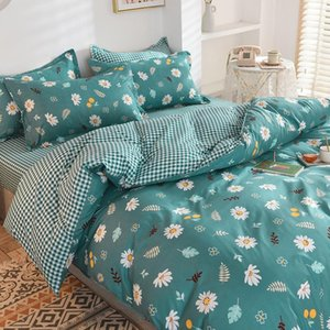 Bedding Sets 2021 Latest Comforter Leaf Cartoon Fashion Simple Cute Child Twin Full Queen Size Duvet Bed Pillowcase Sheet Cover