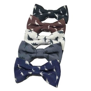 Dinosaur Kid Kids Tie Bowtie Polester Bowties Baby Elegant Gentleman Butterfly Children Party Bow Ties Pet Bowknot