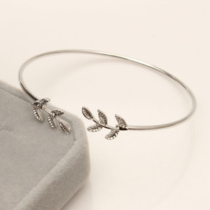 Special price of leaf bracelet with adjustable openingJSXZ3AKO