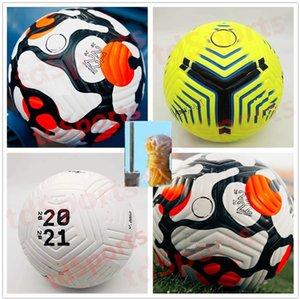 PU Club League 2021 2022 soccer Ball Size 5 high-grade nice match liga premer Finals 21 22 football (Ship the balls without air)
