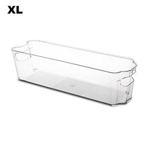 للمطبخ مع تحمل مقابض واضحة الحاويات البلاستيكية متعددة الوظائف تكويم الفريزر حالة تخزين مربع