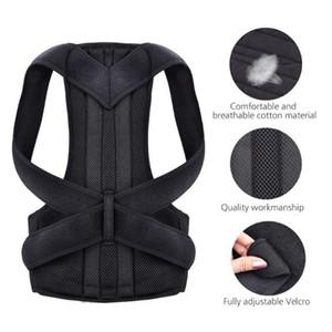 Back Shoulder Posture Corrector brace Adjustable Adult Sports Safety Back Support Corset Spine Support Belt Posture Correction 35 X2