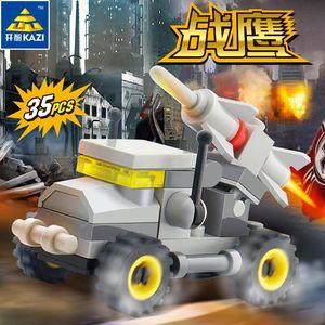 4 Styles Mini Car Model Building Blocks For Kids Diy Educational Assembled Transportation Military Bricks Toys for Boys Children 06
