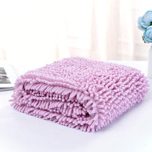 Fibre Fast Drying Water Pet Bath Towel Super Soft Touch Puppy Mat Dogs Blanket Cat Bathing Practical Mould Proof Many Colors 13cy3 ZZ