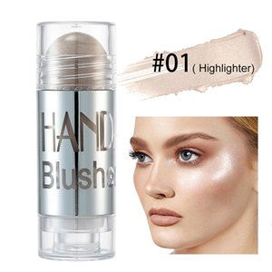 HANDAIYAN Face Makeup Highlighter Bronzer Contour Cream Shimmer Blush Stick Face Blush Cosmetic