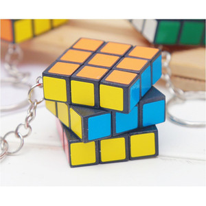 Original Key Buckles Mini Lovely Magic Gift Square Cube Fashion Accesories Educational Woman Man Keychains In Stock 0 55zf K2