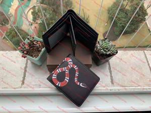 Üst Yüksek Kalite Cüzdan Paris Ekose Tarzı Tasarımcı Erkek Cüzdan Kadın Cüzdan High-end Hayvan Cüzdan Kart Tutucu Sikke Çanta Kutusu H518FF