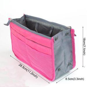 Toiletry Make Up Organizer Phone Bag Organizer Handbag Double Zipper Storage Bags Multi Layer Bag Portable Travel Storage Bags DWF5073