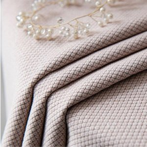 Curtain & Drapes Nordic Blackout Flax Curtains For Living Room Bedroom Pink Solid Color Thick Kitchen Fabric Window WN122-1