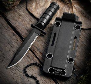 Mini-Scabard Coltello a lama fissa manico in legno 3Cr13Mov Blade in acciaio inox Tactical Camping Outdoor Caccia Survival Survival Rescue EDC Strumenti