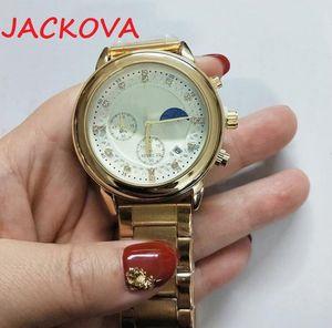 montre de luxe Mens Automatic Stop Watches 41MM Stainless Steel Super Luminous Wristwatches women men waterproof watches