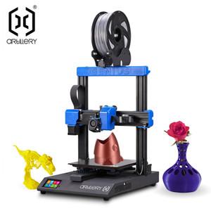 Topçu Genius 3D Yazıcı DIY Kiti 220 * 220 * 250mm Print Boyutu Yüksek Hassasiyetli Ultra-Sessiz Step Motor TFT Dokunmatik Ekran