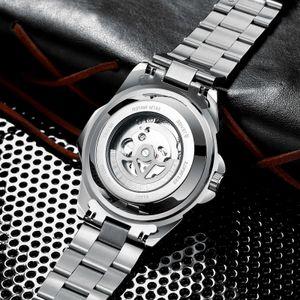 Swiss Tevise Star Men's Fashion Tourbillon Waterproof Mechanical Watch