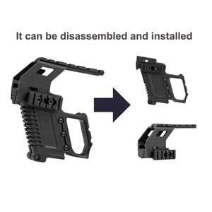Sistema de adaptador de base de riel táctico Sistema de recarga rápida Montaje de montaje para G17 G18 G19 Accesorios para kit de carabina 274 W2