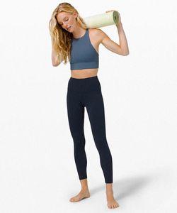 lu-32 lu womens yoga suit pants High Waist Sports Raising Hips Gym Wear Leggings Align Elastic Fitness Tights Workout fitness sets 202 m4t3#