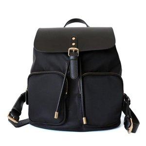 2021 Совершенно новый рюкзак для Drawstring Женщины Большая емкость Универсальная мода Trend Mommy Рюкзак Свет Путешествия Школьные рюкзаки