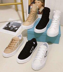 2021 designers homens mulheres sapatos plimsoll plataforma tecido camurça painéis lona branco preto lace up casual sapatos com caixa