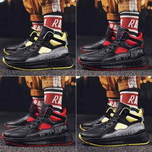 High Quality Mens Sports Shoes Comfortable Outdoor Non-slip Men Running Shoes High Top Hard-Wearing Trend Men Sneakers Zapatos