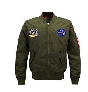 Casual Força Aérea Jaqueta Jaqueta Men Plus Size 8xl Bomber Jackets Homens Top Quality Bomber Outerwear Conciso 2021 Casaco de Emembroidery à prova de vento quente