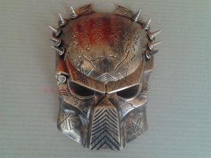 Yeni Altın Cosplay Kalite Kostüm Top Yabancılar VS Predator AVPR Maskesi Cadılar Bayramı Dans Doğum Günü Partisi Masquerade --- Lovely