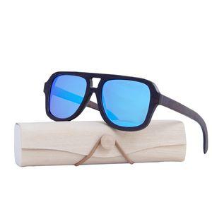 Superior Handmade Beech Quadro de Madeira Óculos De Sol Unisex Vintage Polarized Sun Óculos Para Mulheres Praia Anti-UV Óculos X0125