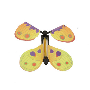 Magic Flying Butterfly Card Surprise for Explosion Box Insert Paper Flying Fairy Wind Up Butterflies Toys for Autistic ADHD