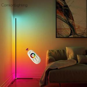 Modern LED Floor Lamp Corner LED Floor Light Coloful Bedroom Lamp Atmosphere Lighting Club Home Home Decor Corner Standing