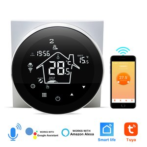 Smart Thermostat WIFI Electric Floor Heating Thermostat Remote Smart Home Control Work with Google Home Alexa