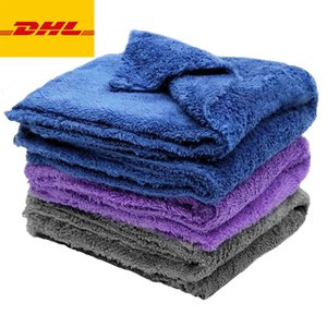 One Piece Extra Soft Car Wash Microfiber Towel Cleaning Drying Care Cloth Detailin Never Scrat DHL Free