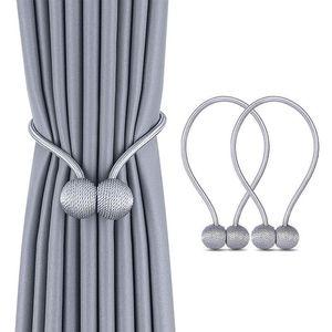 1 Pc Pearl Curtain Gravata Corda Backs Holdback Buckle Clipes Acessórios Rodas Acessoires Gancho Holder Home Decorações