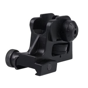 Quasi Rear Cqb M4cqbr Metal Triangle Machine Sight J8 Xinweier Water Gun Modification Accessories