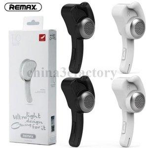 Remax T10 Earhook Wireless Stereo Mini Bluetooth Бизнес-гарнитура Наушники Наушники Наушники Бесплатные С помощью MIC для смартфона PS3
