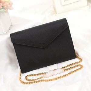 The New Series Bolsas de mujer Botón giratorio único Producción de cuero Caviar Satisfecho para uso diario Bolsas de moda optimizadas Fashion0