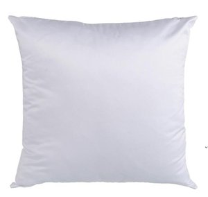 Sublimation Blank Pillowcase Heat Transfer Printing Pillow Covers Cushion 40*40cm 45cm*45cm Without Insert Polyester Pillow Cushion AHE4857