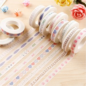 3Pieces Lot 1PCS New Cartoon Washi Tape Scrapbooking DIY Label Gorgeous Pretty Creative Sticker Masking Tape School Office Supply