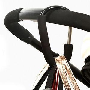 Stroller Accessories Baby Stroller Hooks Universal By Clip Pushchair Clip Wheelchair Carriage Pram Hanger D3D5