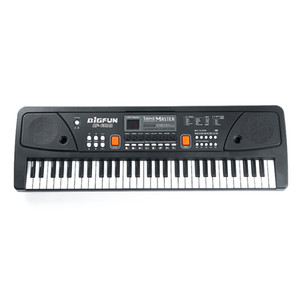 61 Keys Digital Music Electronic Keyboard Kids Electric Piano for Piano Student with Microphone Musical Instrument piano