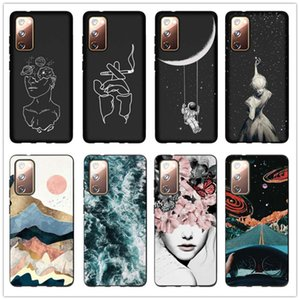 Case For Samsung Galaxy S20 FE Plus Note 20 Ultra A21S A71 A51 5G A41 A31 Phone Cases Slim Soft Silicone Matte Back Cover