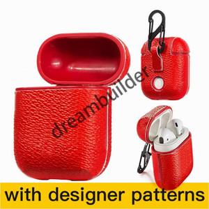 Fashion Aripods Pro Cases Inalámbrico Bluetooth Auriculares Funda protectora Creative Airpods 1/2 Caso Color Color Láser