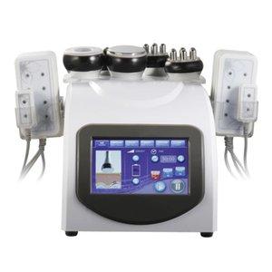 Profesyonel 40 K Ultrasonik Kavitasyon RF Makinesi Radyo Frekansı Lazer 8 Pedleri Multipolar Lipo Lazer Güzellik Makinesi